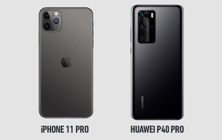 Huawei P40 Pro vs. iPhone 11 Pro: Kirin vs. A13