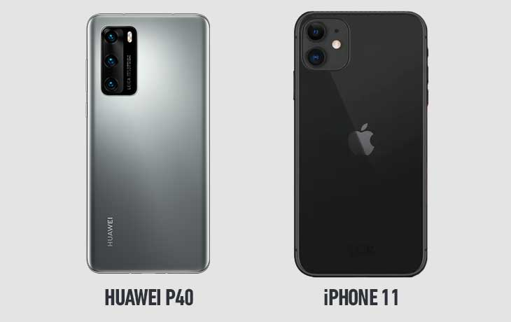 Huawei P40 vs. iPhone 11: Leistung