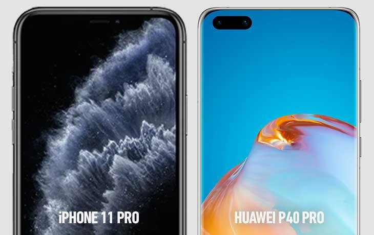 Huawei P40 Pro vs. iPhone 11 Pro: Punch-Hole vs. Notch