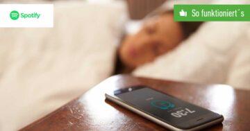 Spotify als Wecker einstellen – So funktioniert's