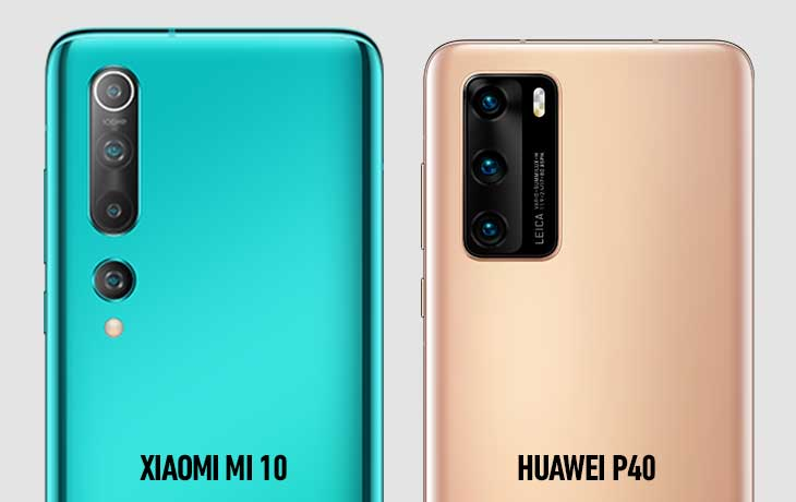 Xiaomi Mi 10 und Huawei P40 Kameravergleich