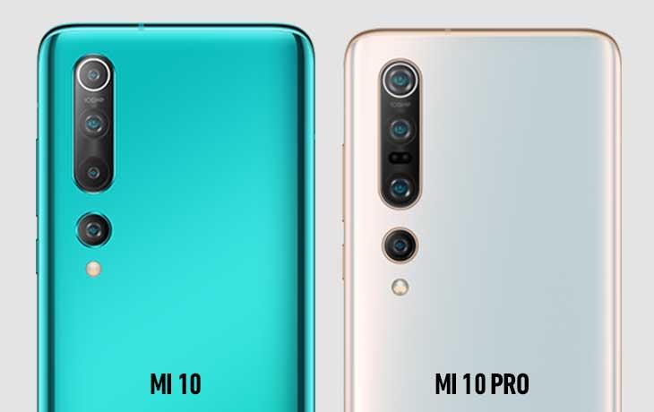 Xiaomi Mi 10 und Xiaomi Mi 10 Pro Kameravergleich