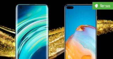 Xiaomi Mi 10 vs. Huawei P40: Vergleich der China-Giganten