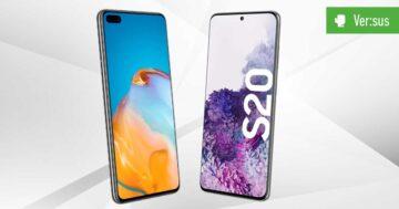 Huawei P40 vs. Galaxy S20 im Vergleich: Duell der Vorzeige-Androiden