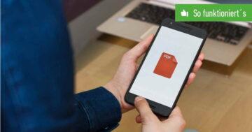 PDF lässt sich nicht öffnen – Was tun bei Android und iPhone?