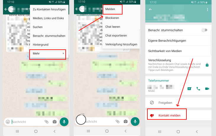 WhatsApp: Kontakt melden - So funktionierts