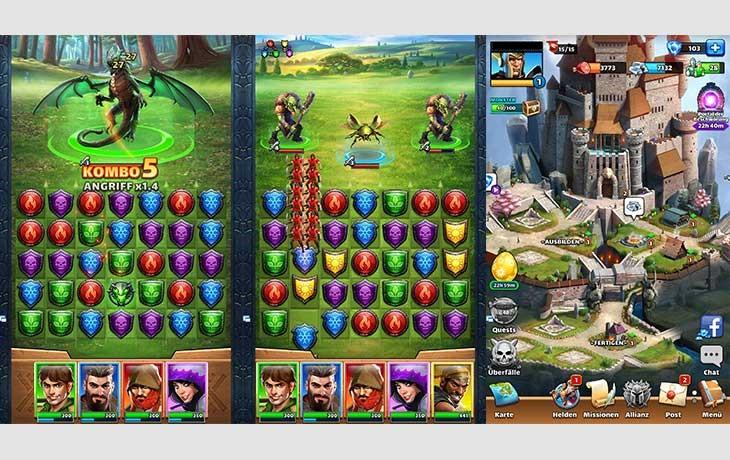 Drei Gewinnt App Empires & Puzzles