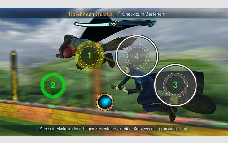Harry Potter Hogwarts Mystery Quidditch