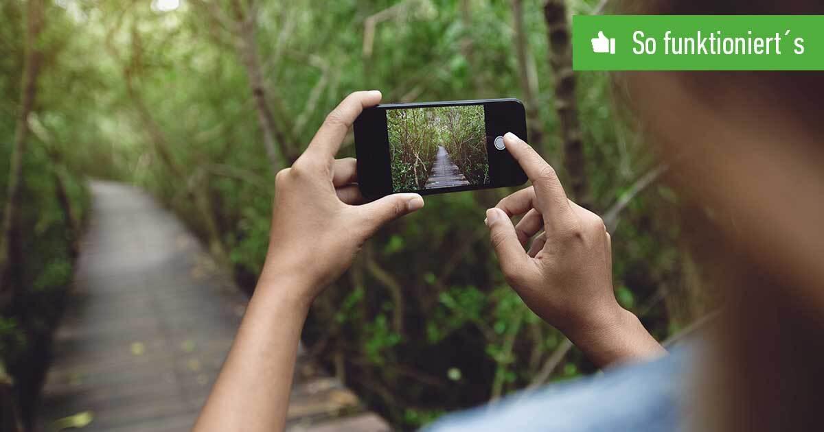 Header iPhone Kamera-Ton