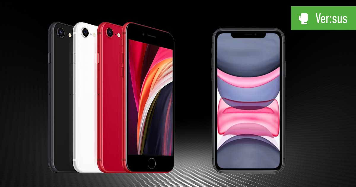 iPhone SE (2020) vs. iPhone 11: Vergleich