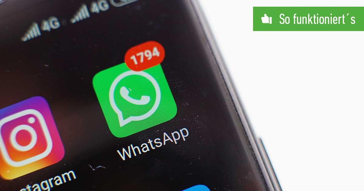 Header WhatsApp stummschalten