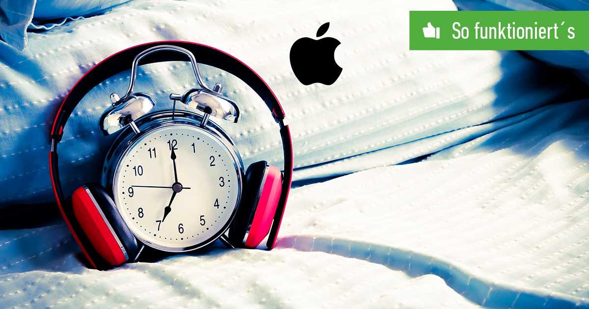 Apple Music als Wecker