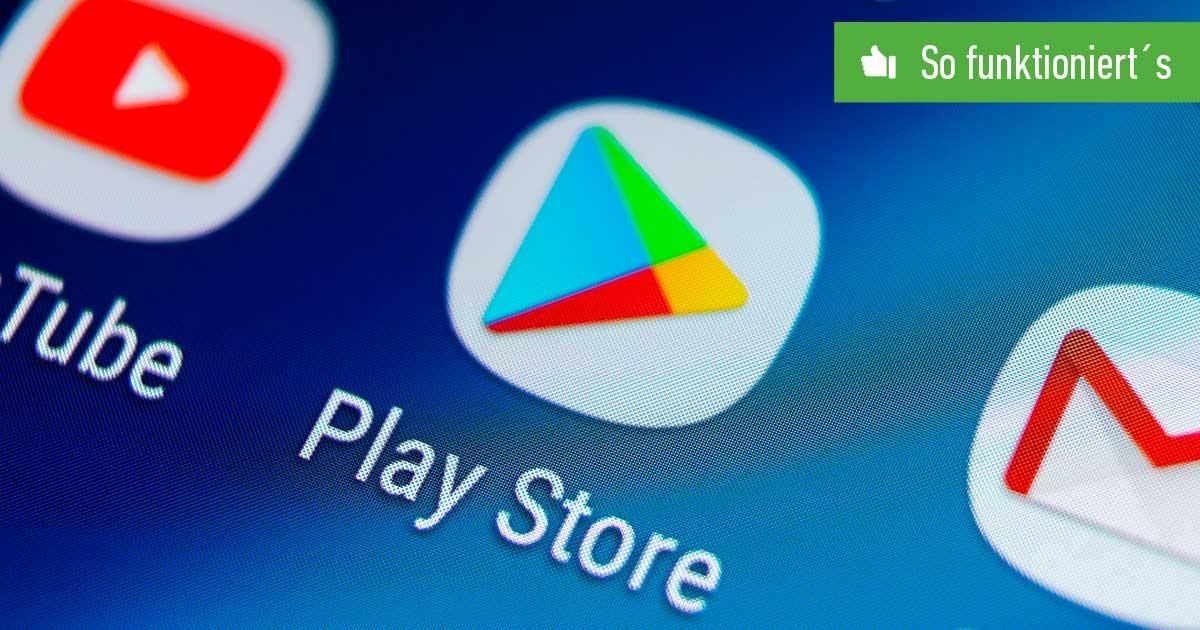 Header Play Store aktualisieren