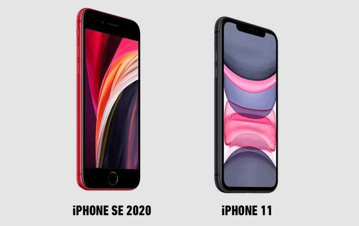 iPhone SE (2020) vs. iPhone 11: Display