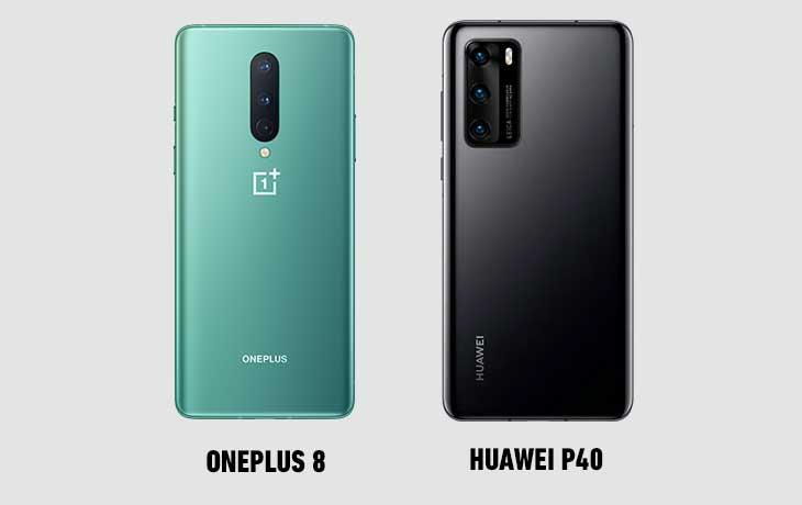 OnePlus 8 vs. Huawei P40: Leistung