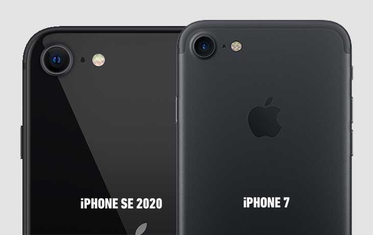 iPhone SE vs. iPhone 7 Kamera