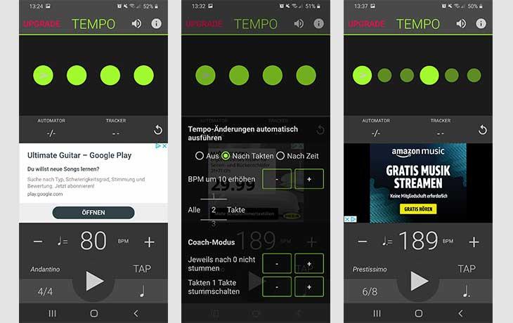 Metronom-App Tempo Lite