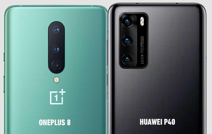 OnePlus 8 vs. Huawei P40: Kamera