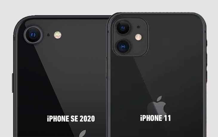 iPhone SE (2020) vs. iPhone 11: Kamera