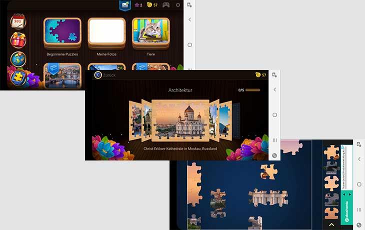 Magische Puzzles App