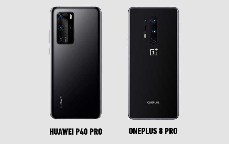 OnePlus 8 Pro vs. Huawei P40 Pro