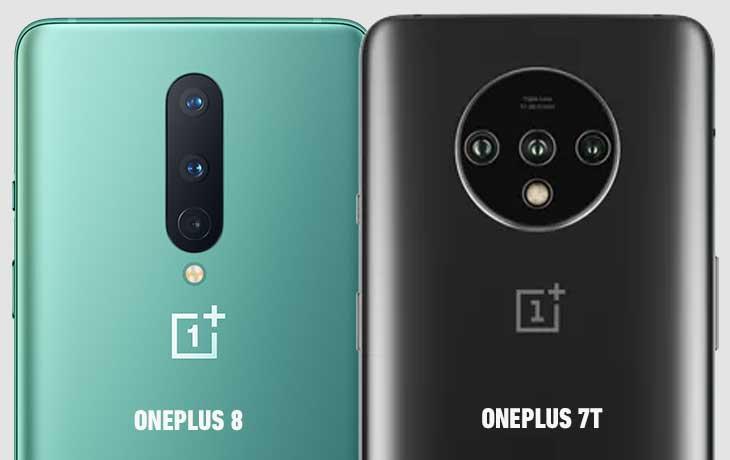 OnePlus 8 und OnePlus 7T Kameravergleich