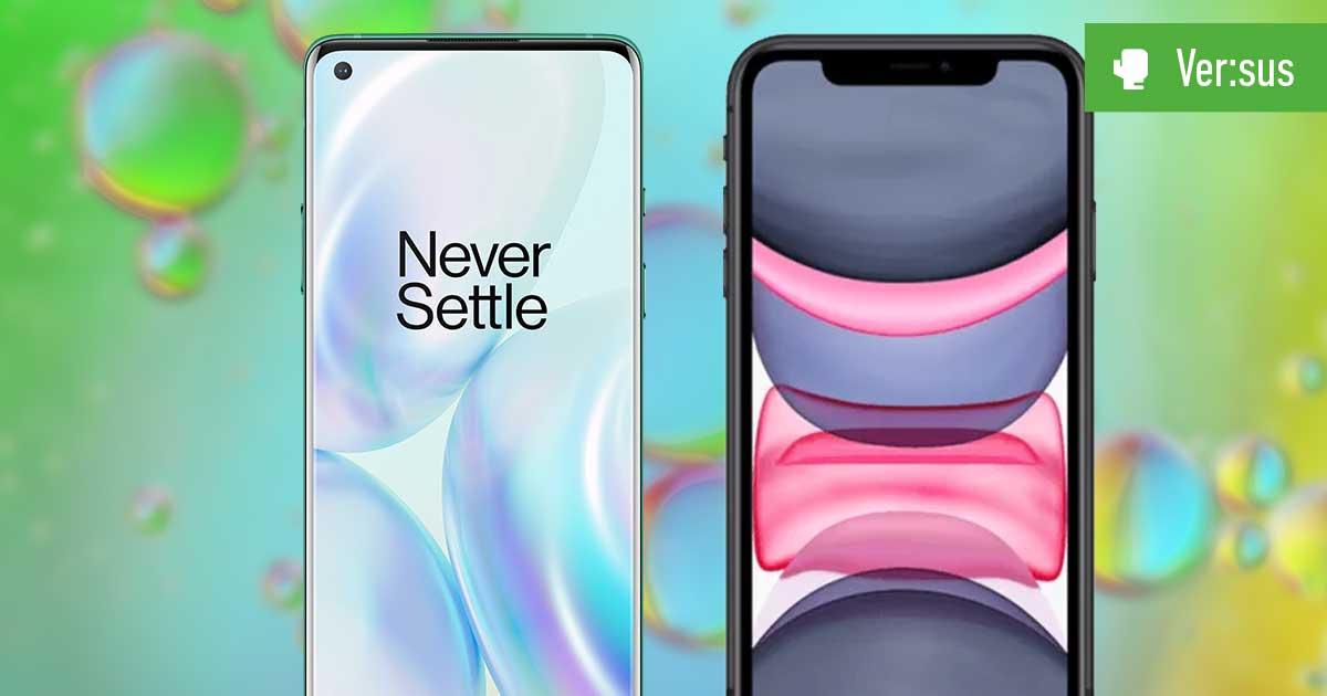 OnePlus 8 vs. iPhone 11