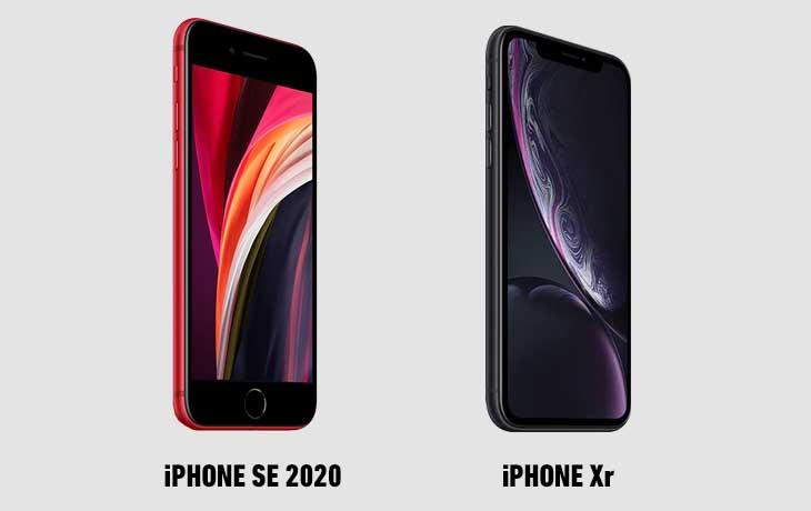 iPhone SE (2020) vs. iPhone Xr