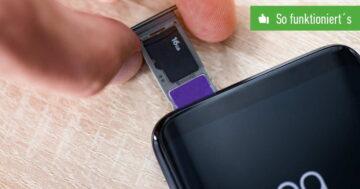SD-Karte formatieren – So funktioniert's beim Android-Handy