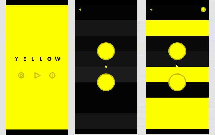 Rätsel-App yellow
