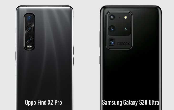 Galaxy S20 Ultra und Oppo Find X2 Pro Kameravergleich