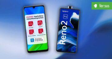 Huawei P Smart 2020 vs. Oppo Reno 2Z – Vergleich der günstigen Mittelklasse