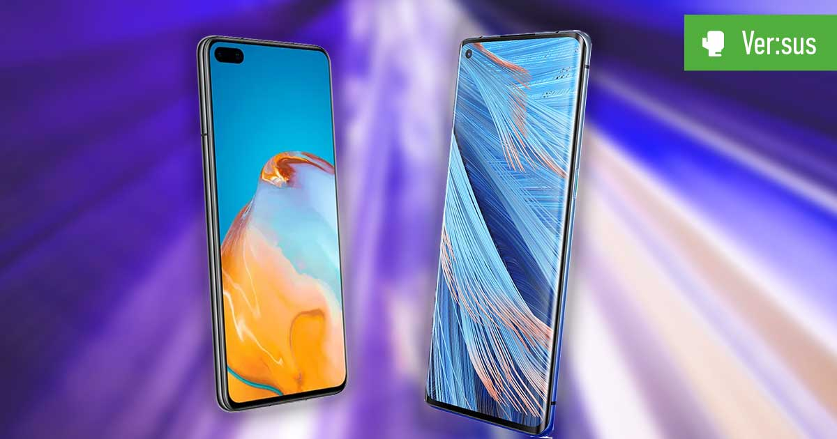 Huawei P40 vs. Oppo Find X2 Neo
