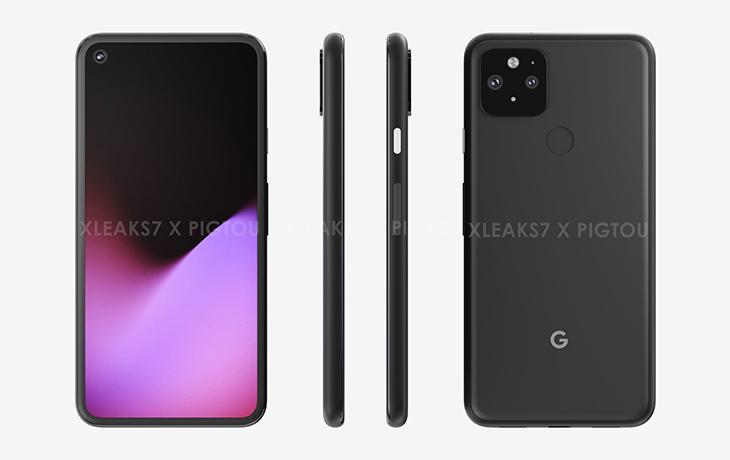Google Pixel 5 Renderbild
