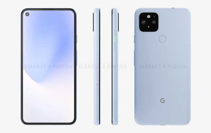 Google Pixel 5 XL Renderbild
