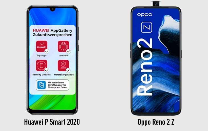 P Smart vs Reno 2Z vorne