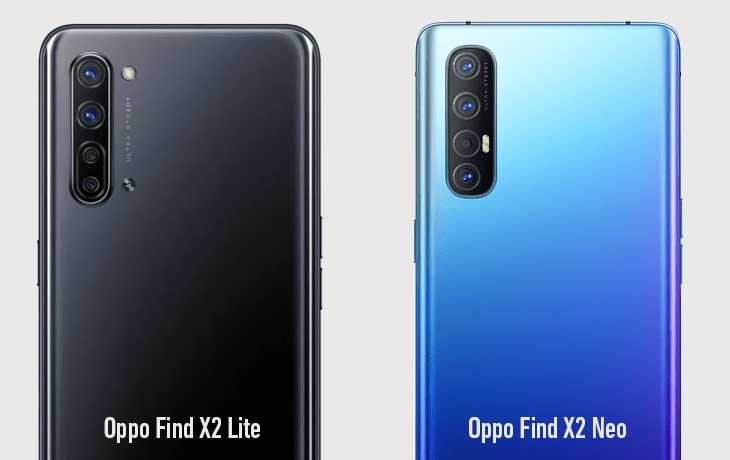 Oppo Find X2 Neo vs Lite Kamera