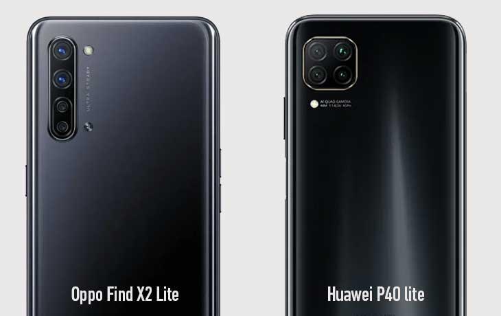 Find X2 Lite vs P40 Lite Kamera
