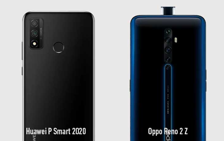 P Smart vs Reno 2Z Kamera