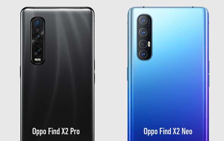 Oppo Find X2 Pro vs. Oppo Find X2 Neo