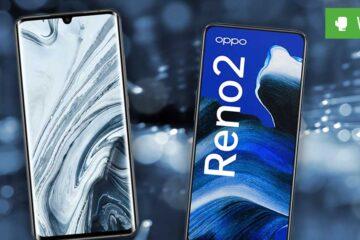 Xiaomi Mi Note 10 Pro vs. Oppo Reno 2