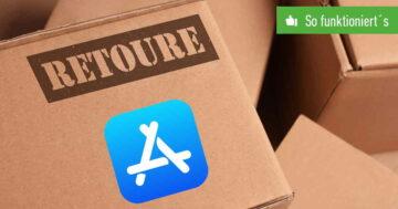 App im App Store von Apple zurückgeben – So funktioniert's