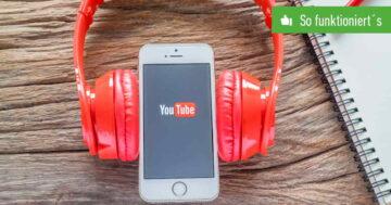 Google Play Music wird eingestellt – Import zu YouTube Music