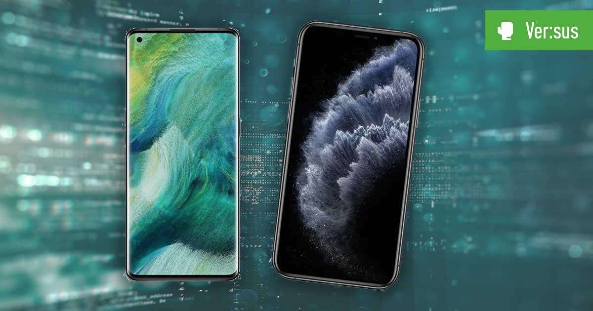 iPhone 11 Pro Max vs. Oppo Find X2 Pro Vergleich