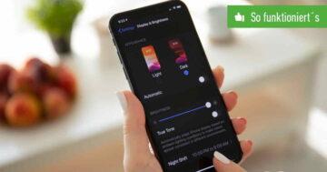iPhone: Dark Mode aktivieren – So funktioniert's unter iOS