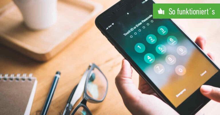iPhone: Automatische Sperre ausschalten - Bildschirm immer