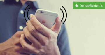 iPhone: Vibration einstellen oder ausschalten – So funktioniert's