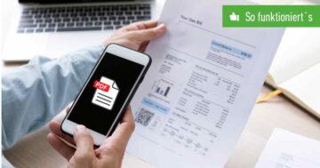 PDF erstellen – So funktioniert's bei Android und iOS