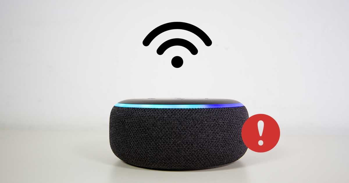 Alexa verbindet sich nicht mit WLAN