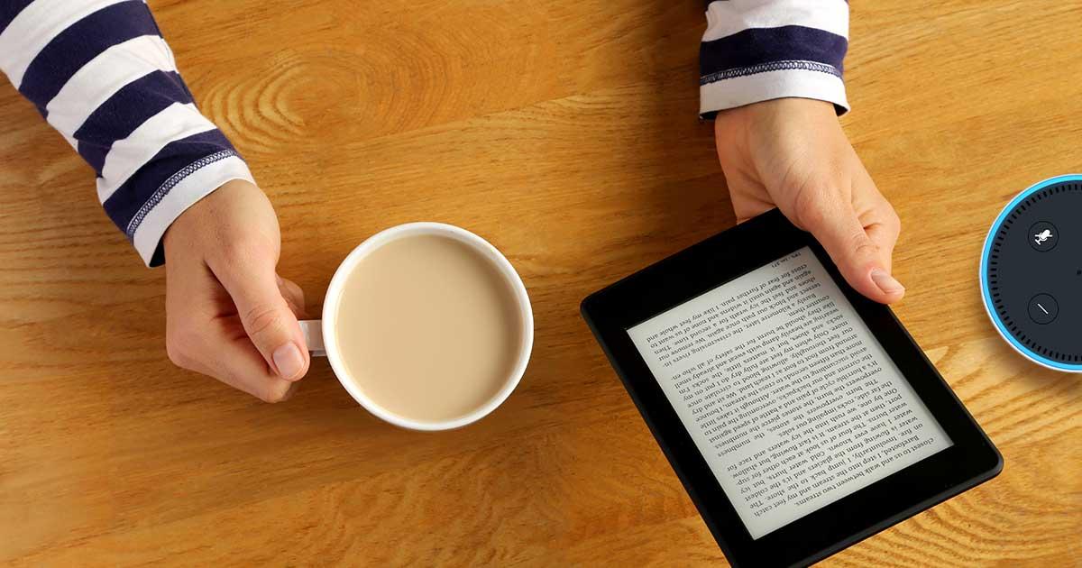 Mit Alexa Kindle-eBooks vorlesen lassen